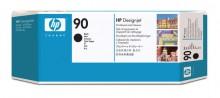Druckkopf und Druckkopfreiniger 90 schwarz für DesignJet 4000, 4000ps,