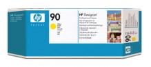 Druckkopf und Druckkopfreiniger 90 yellow für DesignJet 4000, 4000ps,