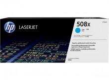 Toner Cartridge 508X, cyan für LaserJet Enterprise M552dn, M553dn,
