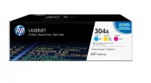 Toner Cartridge 304A farbig Color LaserJet CP2025,CM2320MFP