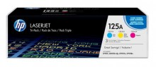 Toner Cartridge 125A farbig für Color LaserJet CP1215, CP1515