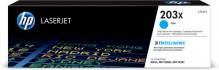 Toner Cartridge 203X cyan für Color LaserJet Pro M254dw, M254nw,