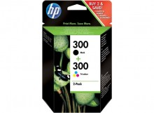 Tintenpatrone 300 schwarz/dreifarbig Deskjet D2560, D1660, D5560,