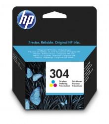 Tintenpatrone HP 304 dreifarbig für DeskJet 26XX, 37XX, Envy 50XX