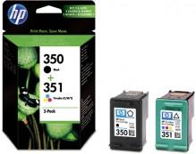 Multipack Tintenpatrone Nr.350/351 schwarz/farbig für Deskjet D4260