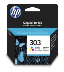 Tintenpatrone HP 303 dreifarbig für Envy Photo 62XX, 71XX, 78XX