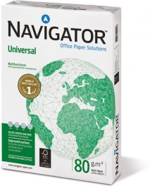 Navigator Universal Kopierpapier A4 80g weiß sehr hohe Weiße