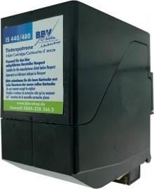 BBV-Domke Refill-Farbkartusche Neopost IS-440, IS-480, IN-600, IN-700 Schrägansicht