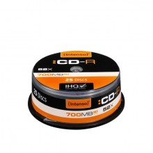 Rohling CD-R 80 Min. 700MB, 52x, Spindel 25er