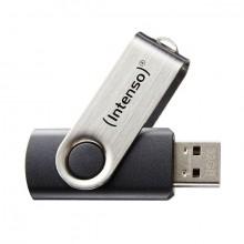 Speicherstick USB Drive 2.0, 32 GB Basic Line, drehbarer Metallbügel