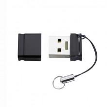 Speicherstick Slim Line USB 3.0, 128GB, schwarz