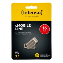 USB Stick cMobile Line Type C, 16 GB, bis zu 70 MB/s,