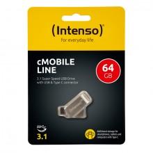 USB Stick cMobile Line Type C, 64 GB, bis zu 70 MB/s,