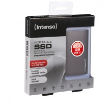 "Externe SSD Festplatte 1,8"" USB 3.0, 256 GB, anthrazit, 90 x 54 x 9 mm"