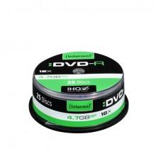Rohling DVD-R 4,7GB, 16x, Spindel 25er