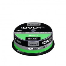 Rohling DVD-R 4,7GB, 16x, Spindel 25er, bedruckbar