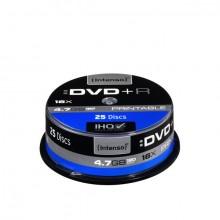 Rohling DVD+R 4,7GB, 16x, Spindel 25er bedruckbar