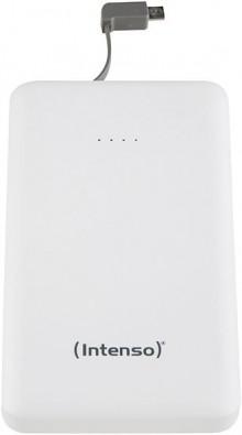 Rechargeable Powerbank 10000 mAh, weiß, wiederaufladbarer Lithium-