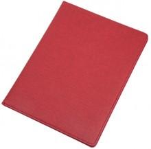 Schreibmappe BALOCCO rot Polyester mit Tagegriff, Schulterriemen, Scloss