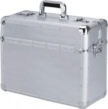 Alumaxx Pilotenkoffer aus Aluminium Zwei Zahlenkombinationsschlösser,