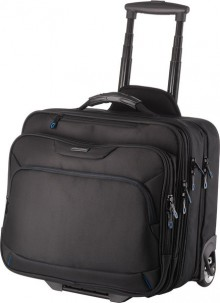 Lightpak Businesstrolley schwarz Nylon Außenmaß: ca. 42x38x29cm
