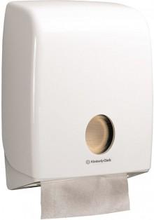 Kimberly-Clark Handtuchspender Aquarius Kunststoff weiß