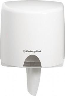 Kimberly-Clark Spender Aquarius Kunststoff weiß für Zentralentnahme