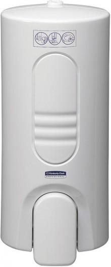 Spender Aquarius für Toilettensitz- reiniger, weiß, Kunststoff