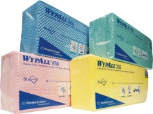 Wischtücher WYPALL X50, gelb f. Spender 6954, Interfold-Faltung