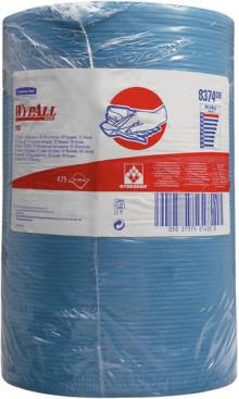 Wischtücher WYPALL X80, Rolle, blau f. Spender 6146, 6154, 6155