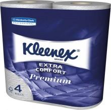 Toilettenpapier Kleenex Premium 4-lagig weiß, f.Spender 6992,7191