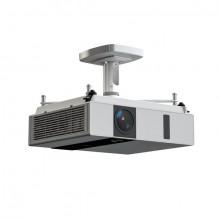 Projektor-Halterung Comfort 10, weiß, Abstand Projektor/Decke 13 cm