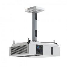 Projektor-Halterung Comfort 30, silber, Abstand Projektor/Decke 30 cm
