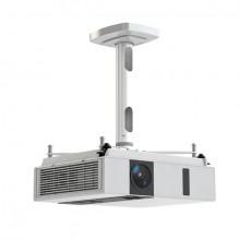 Projektor-Halterung Comfort 30, weiß, Abstand Projektor/Decke 30 cm