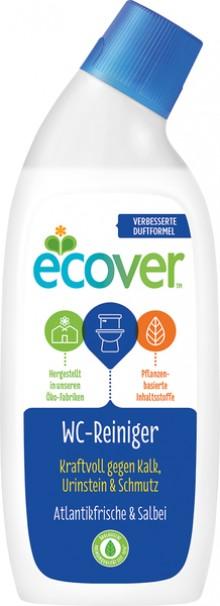 WC-Reiniger ECOVER 750ml gegen Kalk, Urinstein und Schmutz
