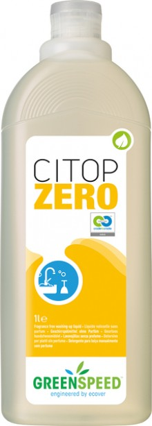 Geschirrspülmittel Greenspeed Citop Zero 1L, ph-neutral, parfümfrei,