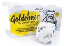 Goldeimer Toilettenpapier 3lg, 8 Rollen, 150 Blatt / Rolle