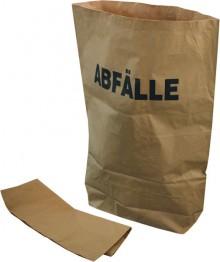"Bio-Abfallsäcke mit Aufdruck ""Abfall"", 120L, natur, 70x95x22 cm,"