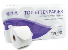 Tapira Top Toilettenpapier 3lg, Recycling, 250 Blatt/Rolle