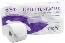 Tapira Plus Toilettenpapier 3lg, hochweiß, 250 Blatt/Rolle