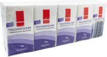 Tapira Taschentücher 4lg, 21x21 mm hochweiß, Zellstoff