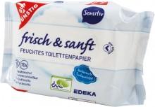 Toilettenpapier feucht Nachfüllpack sensitiv, 2 x 70 Tücher