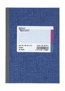 Kladde A6 liniert holzfrei 96 Bl. liniert=blau