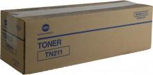 Toner TN211 schwarz für Bizhub 200, 250