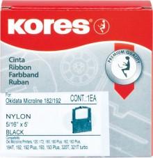 Farbband R9/409HDR schwarz für OKI ML182, 192, 320, 390 ua