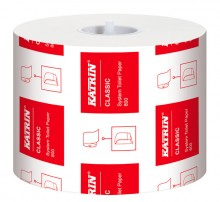 Toilettenpapier Katrin Classic 2lg., 800 Blatt weiß, 2-lg.