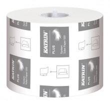 Toilettenpapier Katrin Plus System 500 Blatt hochweiß, 3-lg.