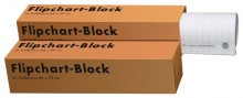 Landre Flipchartblock, 68 x 99 cm, kariert, recycling, 20 Blatt, 80g/qm
