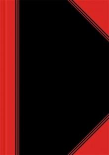 China-Kladde, A5, liniert, 96 Blatt Papier 70 g/qm, schwarz/rot