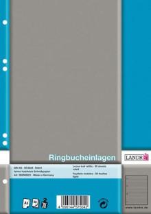 Ringbucheinlagen A5 liniert 70g chlorfrei 50 Blatt